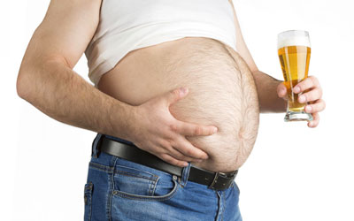 Признаки развития пивного алкоголизма - клиника Угодие