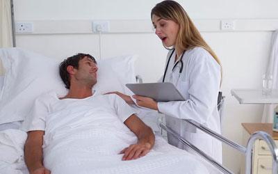 Размещение пациента в палате - клиника Угодие